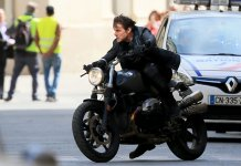 Tom Cruise in 'Mission :Impossible 6 Gemini' Filming In Paris