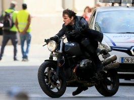 Tom Cruise in 'Mission :Impossible 6 Gemini' Filming In Paris