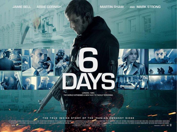 6 Days - UK Poster