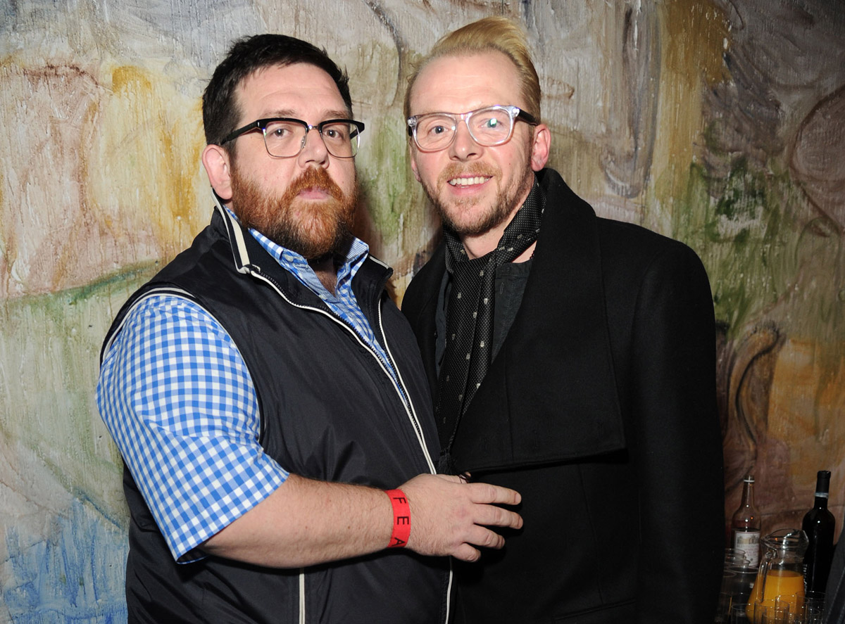 Comedy-Horror buddies, Simon Pegg and Nick Frost team up ...