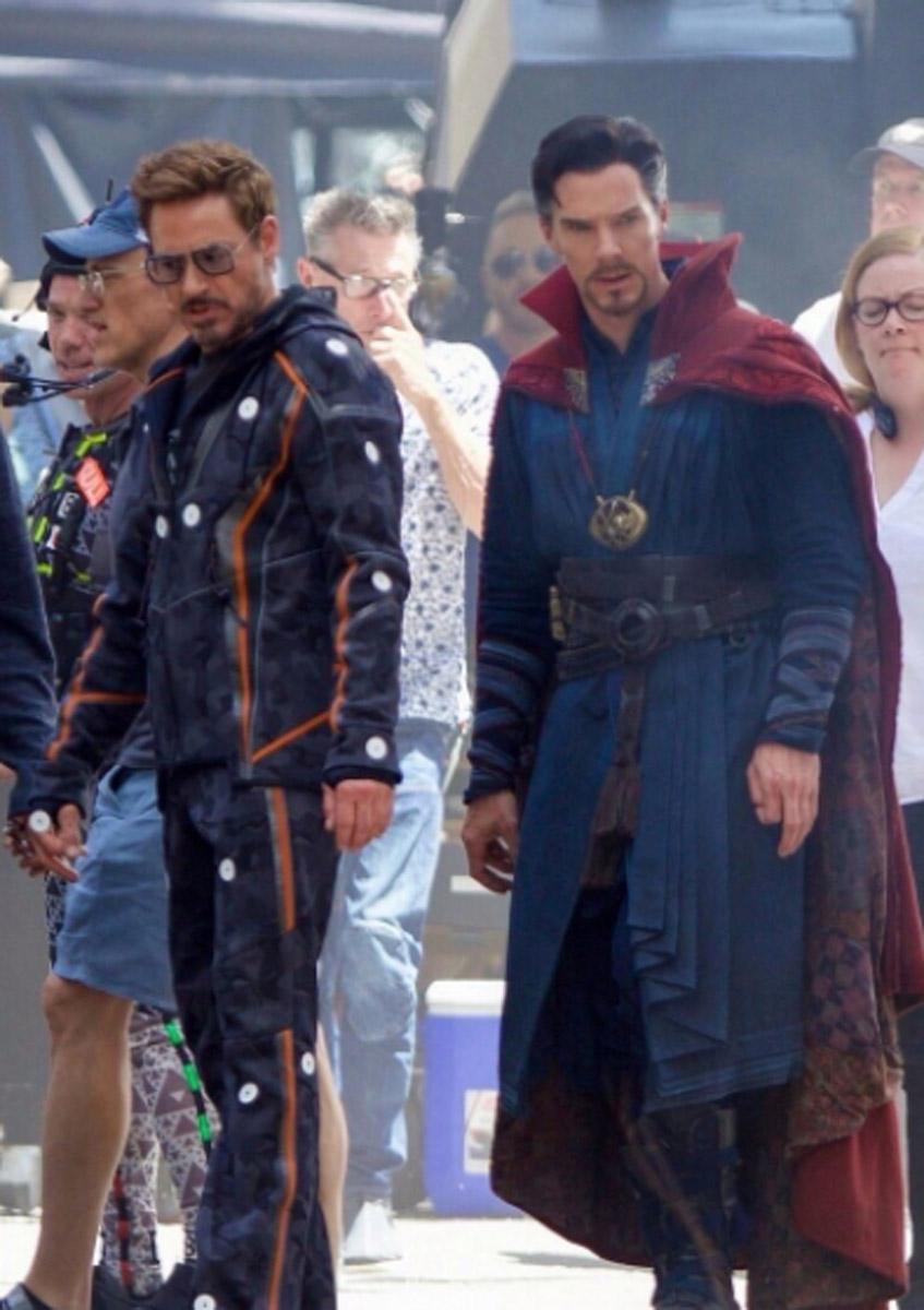 Avengers Infinity War Rdj And Bc Heyuguys