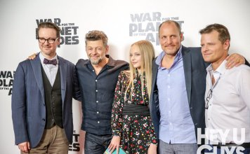 War for the Planet of the Apes Red Carpet