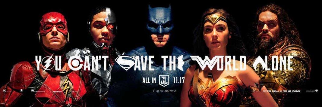 Justice League SDCC POster 2