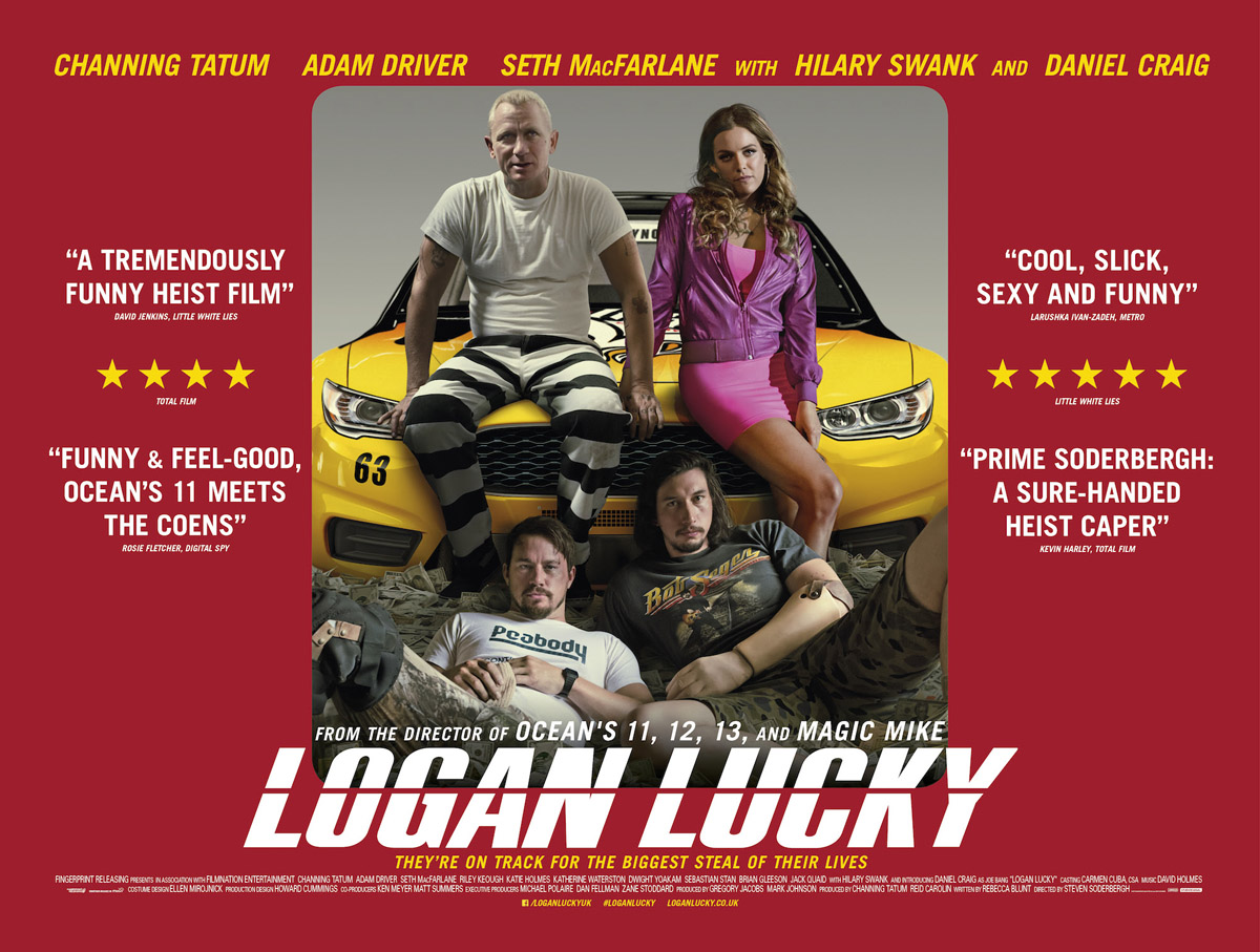 Image result for logan lucky poster