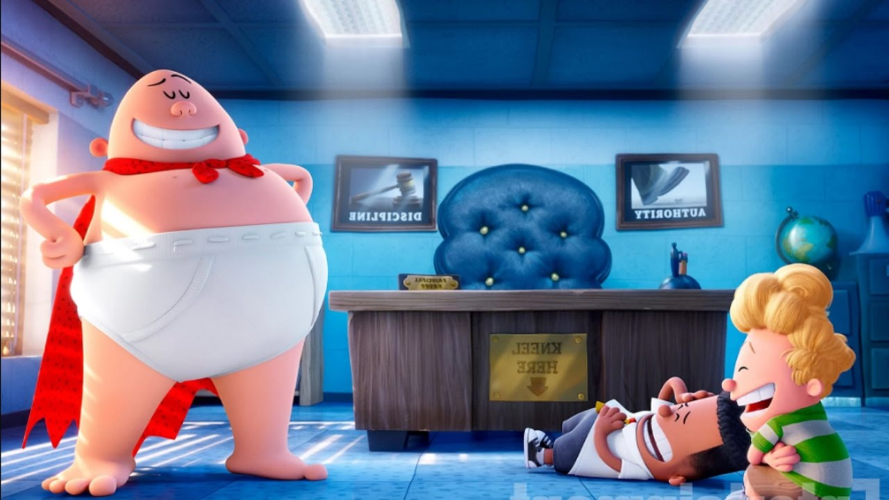 Captain Underpants The First Epic Movie Review