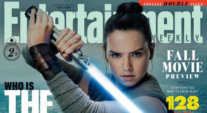 The Last Jedi EW Cover