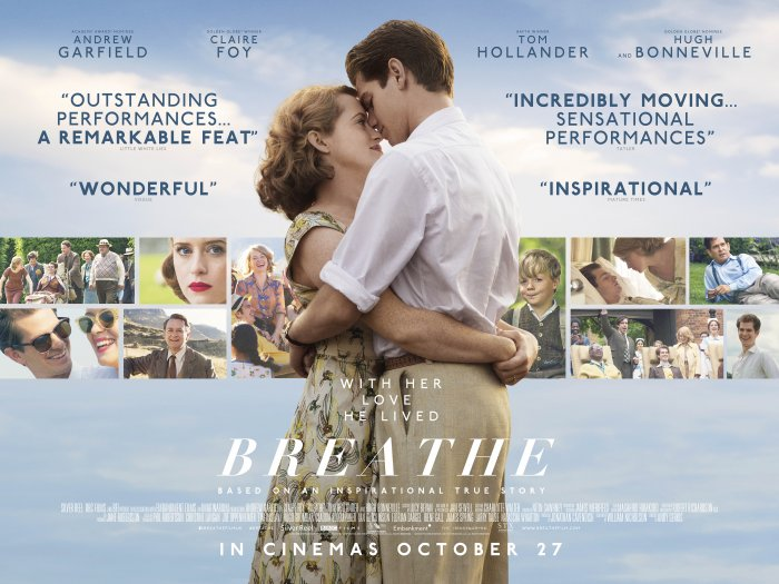 Breathe - Andrew Garfield and Claire Foy 2