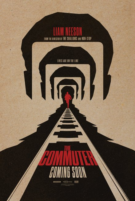 The Commuter UK Poster