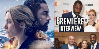 The Mountain Between Us Premiere Interviews