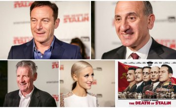 The Death of Stalin UK Premiere