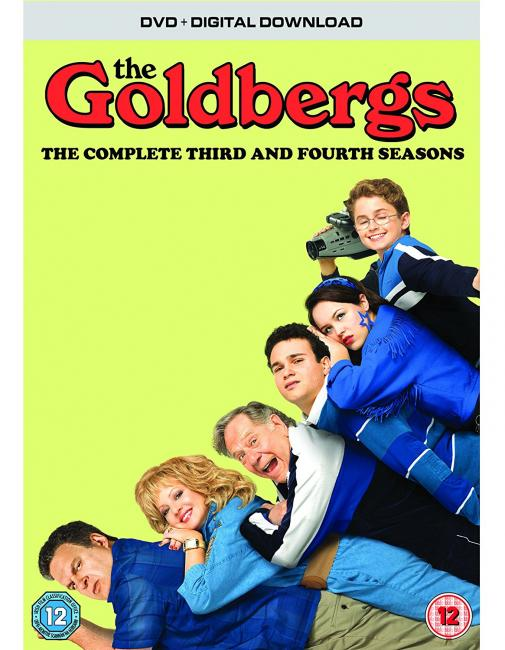 The GOldbergs Season 3 and 4 DVD