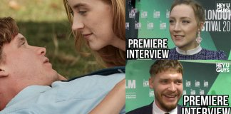 on chesil beach premiere interviews