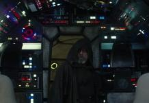 Star Wars The Last Jedi Luke Millennium Falcon