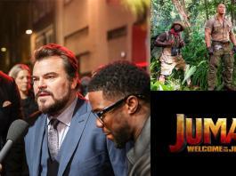 Jumanji welcome to the jungle premiere
