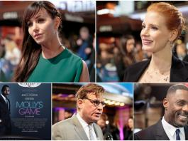 mollys game premiere interview