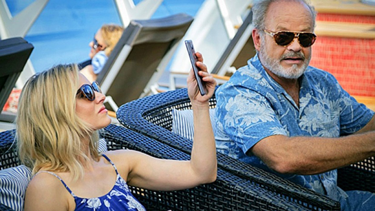 Kristen Bell And Kelsey Grammer Work Through Some Father