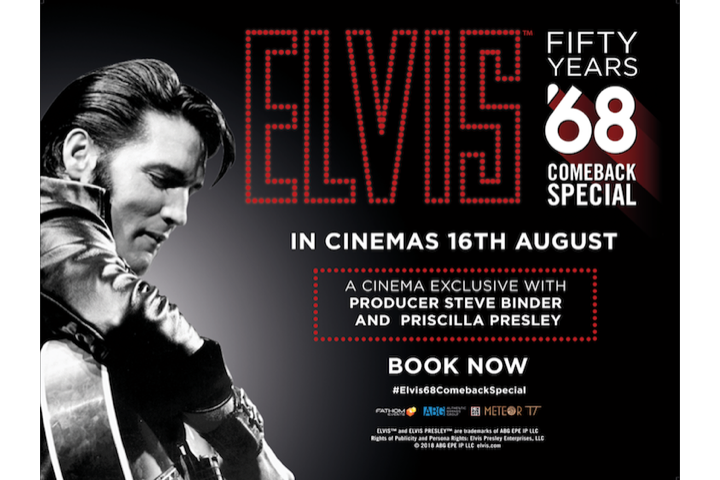 Win tickets to Elvis Presley's Iconic 68' Comeback Special