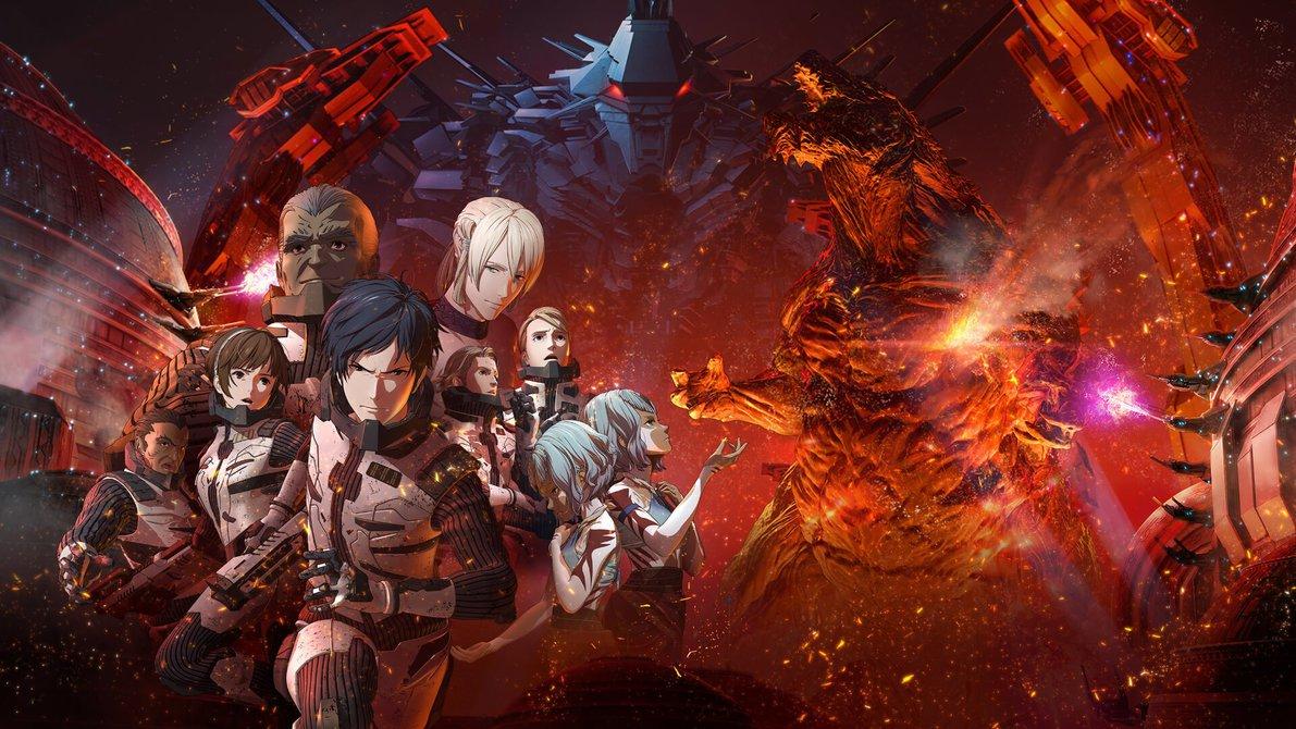 Resultado de imagen para Godzilla: City on the Edge of Battle