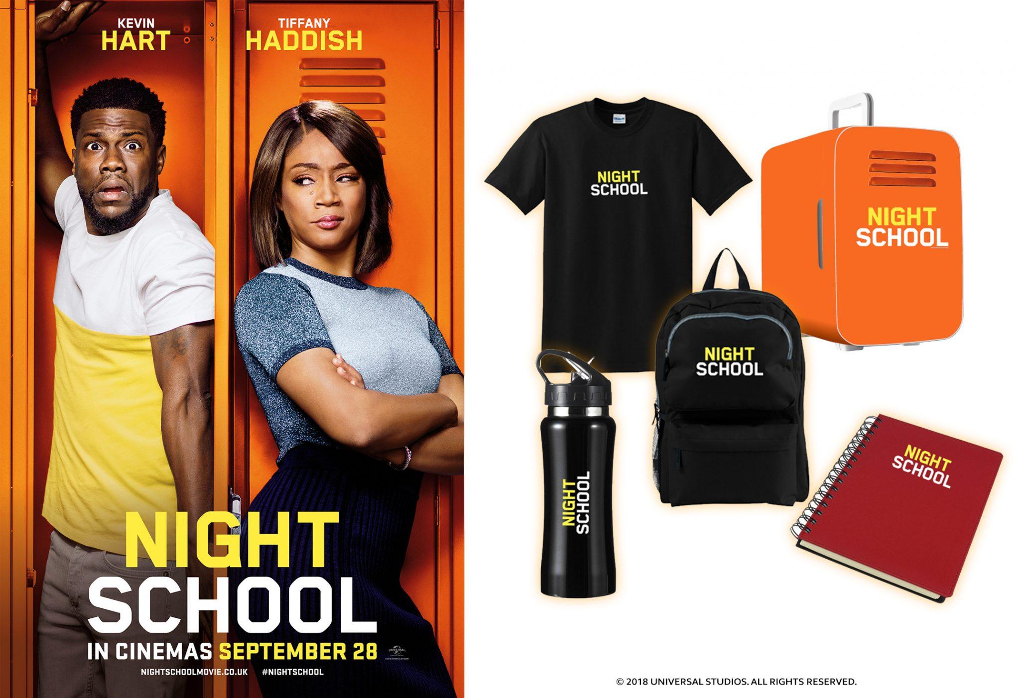 Win Movie Merchandise With Night School Heyuguys