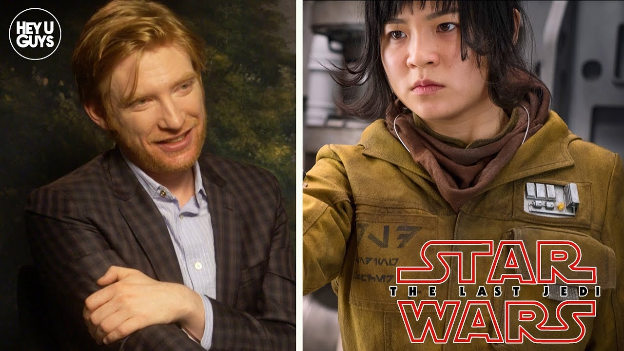 Domhnall Gleeson calls toxic Star Wars 'fans' morons over ...