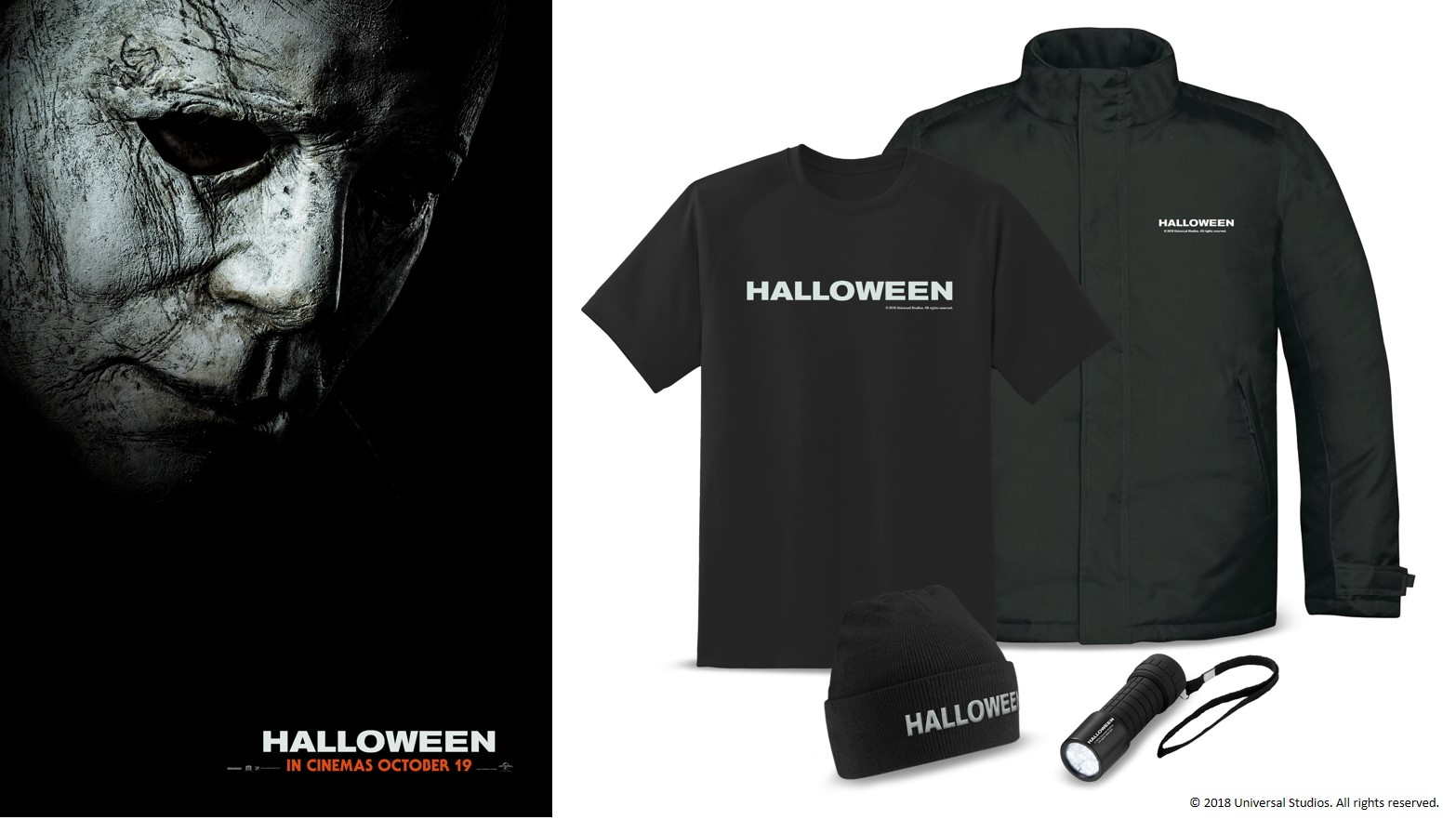 win movie merchandise with halloween - heyuguys
