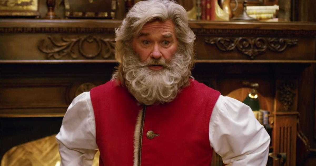 Kurt Russell keeps it real as Santa in trailer for The ...
