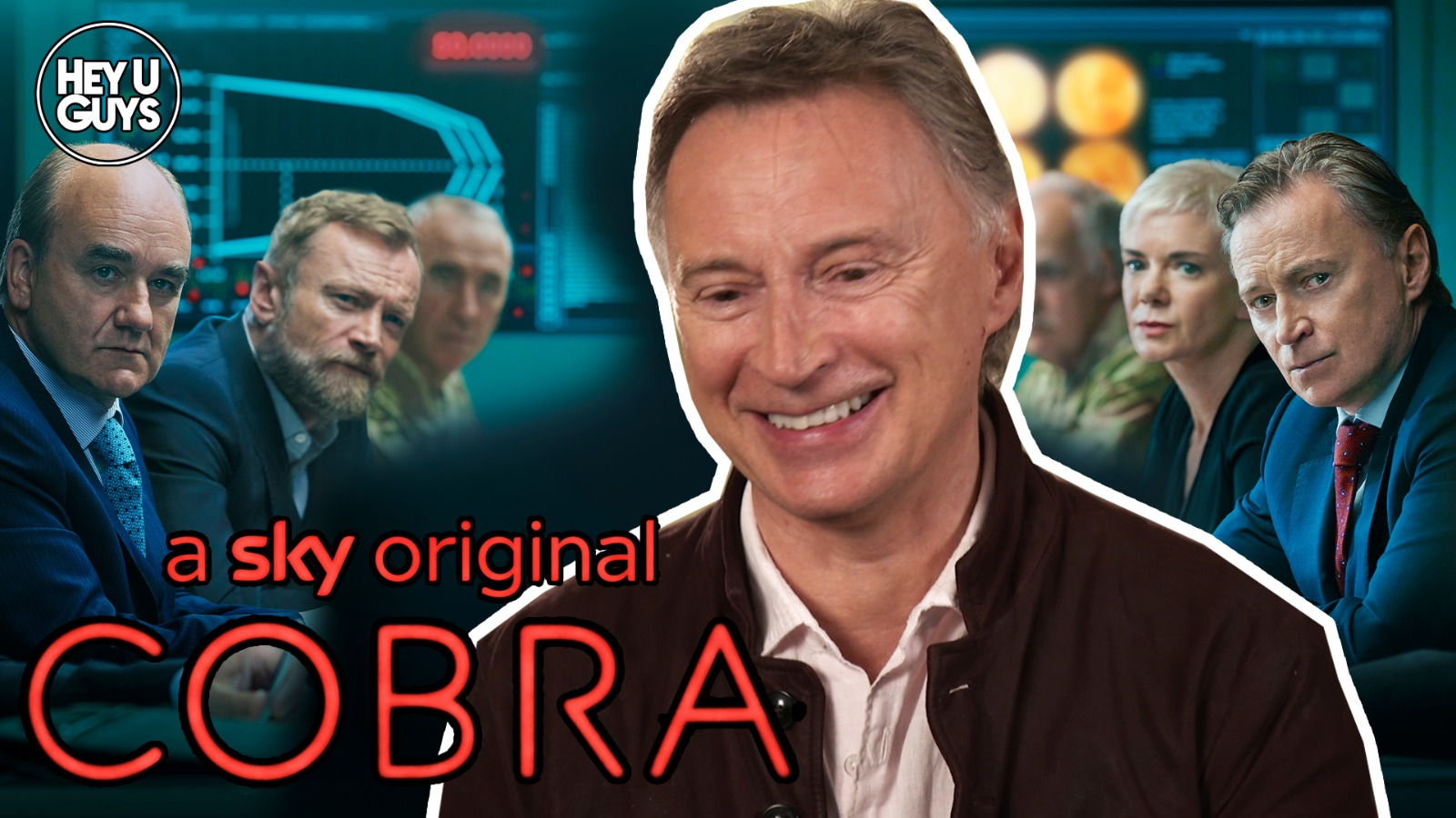 Robert Carlyle And David Haig On The Thrilling New Political Series Cobra