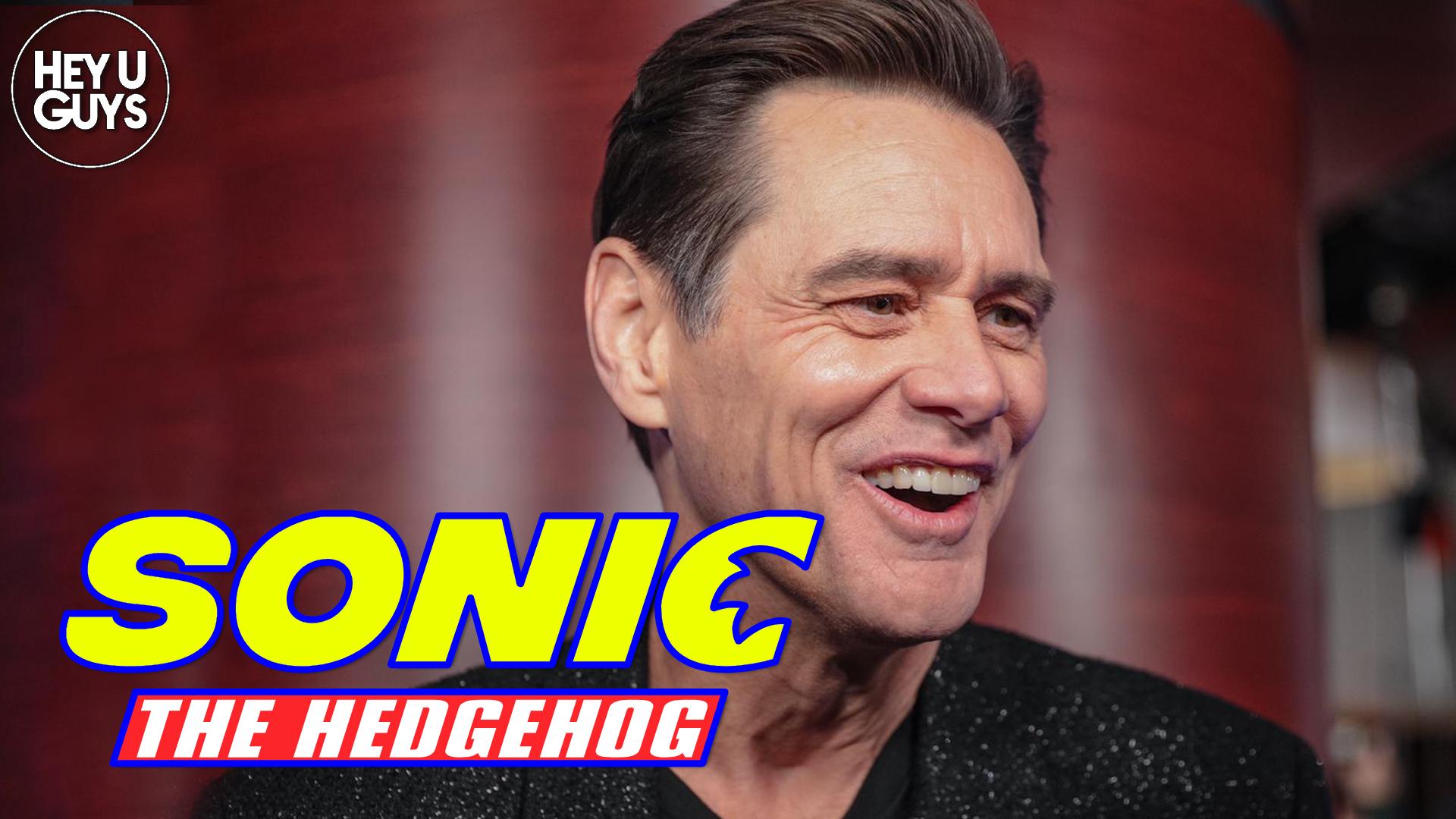 sonic the hedgehog jim carrey
