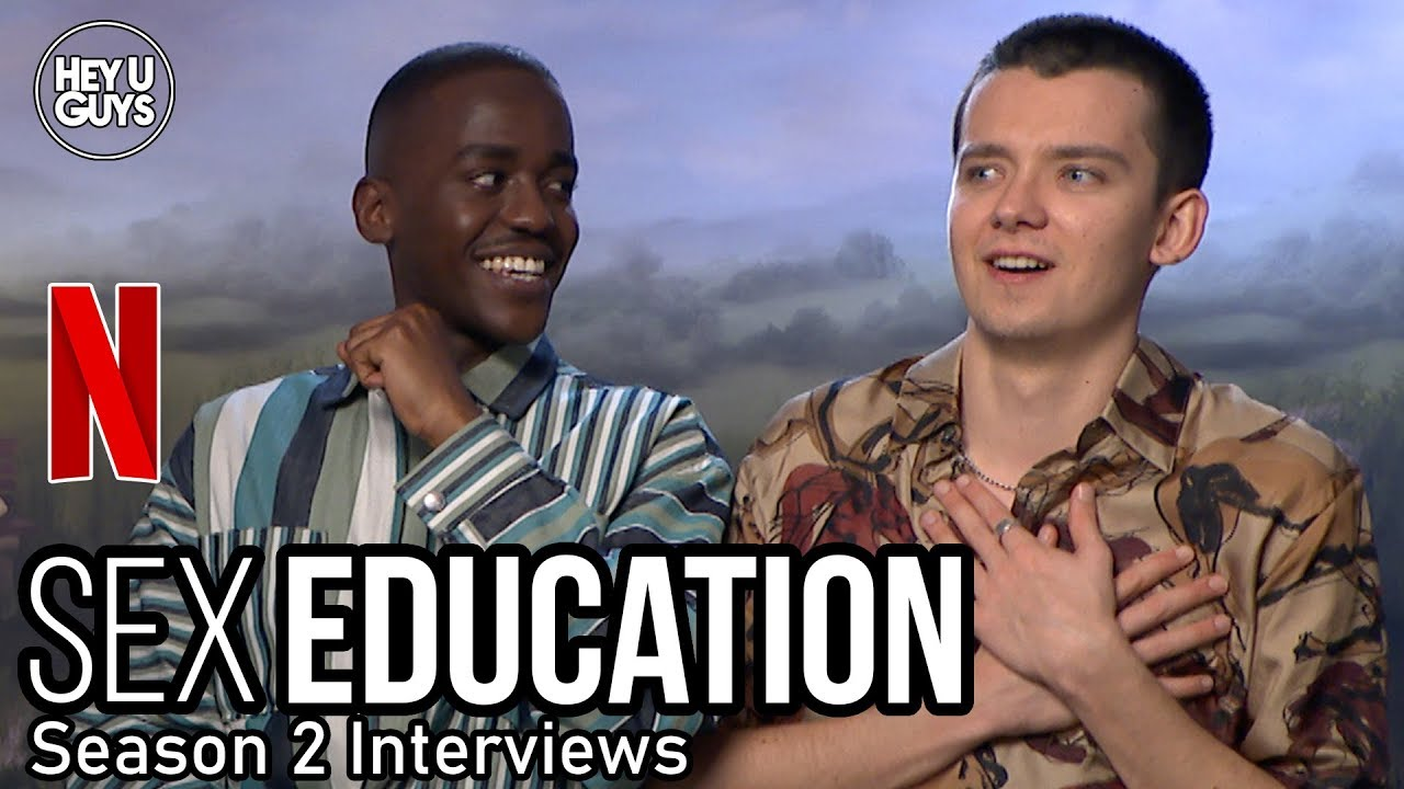 sex education season 2 interview