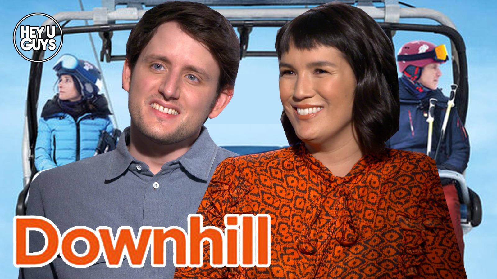 Downhill cast interviews