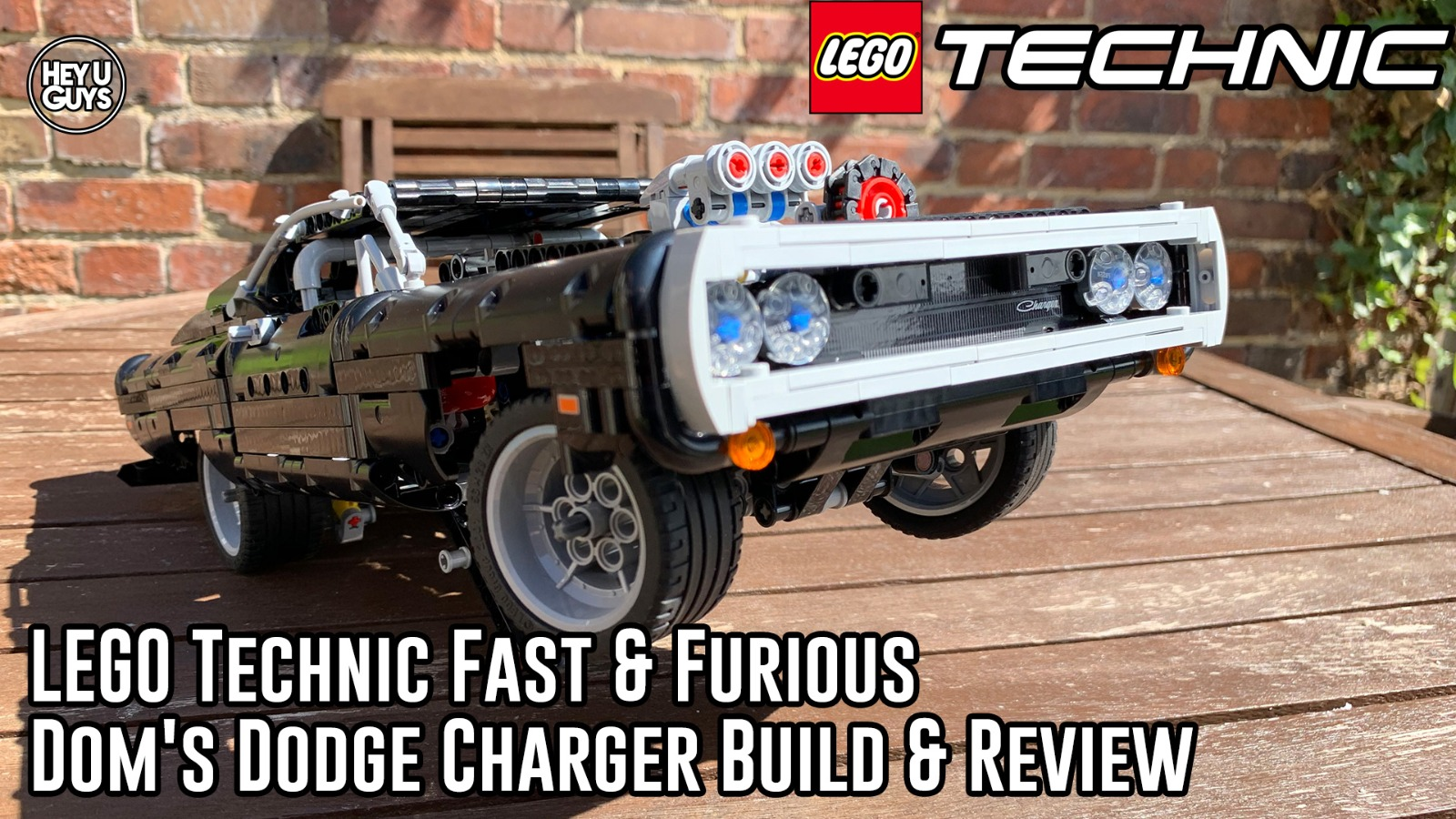 Doms Charger LEGO Fast and Furious