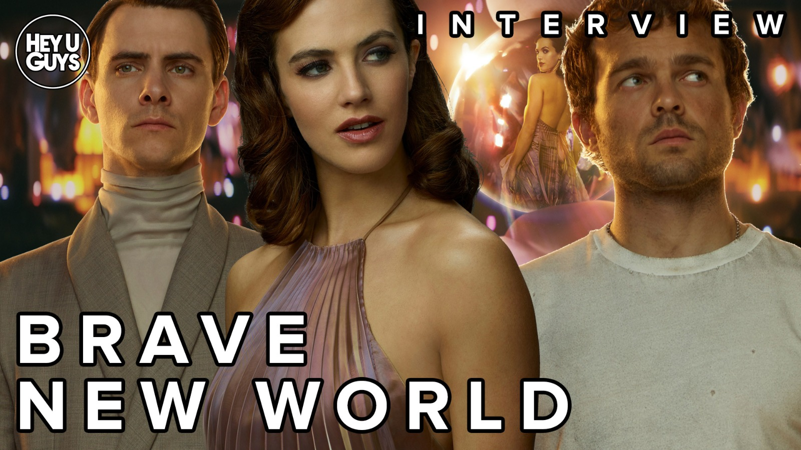 Brave new World Cast Interviews